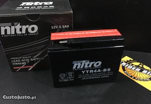 Bateria Ytr4A-BS Nitro scooter 's Honda
