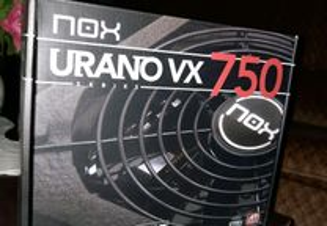 Fonte alimentação Nox Urano VX750 watts Nova