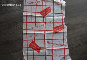 Antiga folha de embrulho Tecidos do Rossio - Lisbo