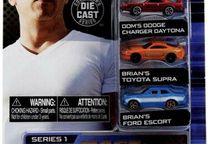Set 3 Micro carros Fast & Furious comprimento +- 1,65 in