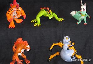 5 Figuras IMC Toys Invizimals