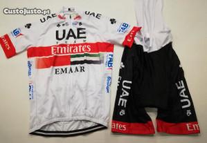 Equipamento Ciclismo Emirates