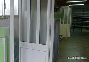 portas porta aluminio lacado, barato, Novo.