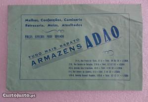 Antigo saco de embrulho Armazéns Adão