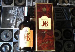 Garrafa de whisky JB 15 anos