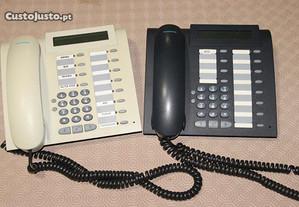 2 telefones siemens de secretária - usados