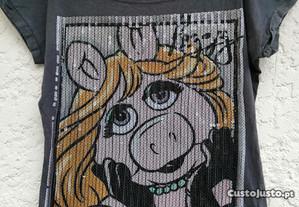Camisola miss piggy M