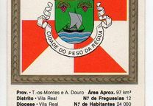 Peso da Régua - calendário de bolso (1987-1988)