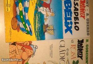 Asterix O pesadelo de Obelix + Asterix a Rosa