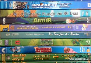 15 DVD Animação - Como Novos