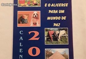 Calendário de parede de 2004