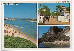 Vila Nova de Milfontes - postal ilustrado