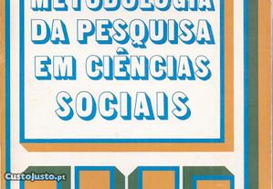 Metodologia da Pesquisa em Ciências Sociais