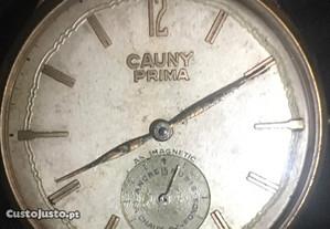 Cauny Prima ,década 60 ,15 rubis quase 39mm,raro