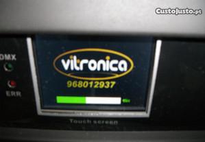 vitrónica reparação material luz,som e tv