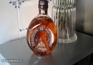 Garrafa de whisky Dinple 15 anos