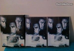 Pack coleção de 8 filmes de steven seagal