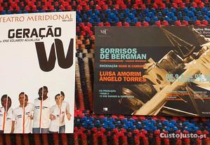 Postal - Sorrisos de Bergman + Geração W