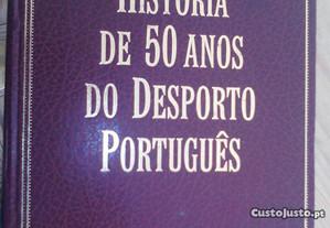Livro- História dos 50 anos do desporto português