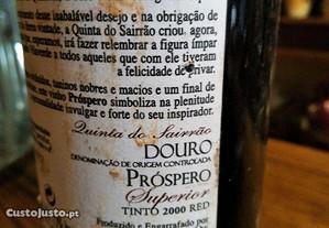 Vinho Tinto Próspero Superior 2000
