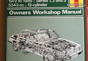 Jaguar Sovereign XJ12 - Manual Técnico Haynes