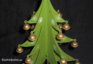 Árvore de Natal Miniatura Pinheiro Guizos