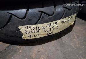 1 pneu 140/60R14 dunlop