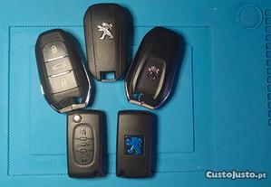 Programação Chave Peugeot / Citroen / DS