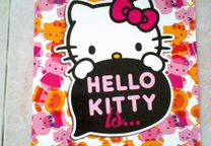 Caderneta Hello Kitty