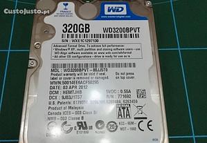 HDD Disco rigido Portátil 320Gb Western Digital