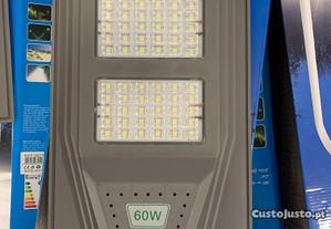 2 projetores solar 60 w