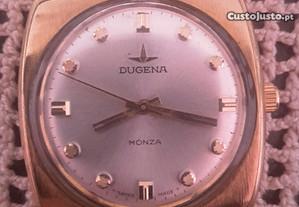 Relógio Dugena Monza corda manual