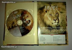 4 CD sobre a vida animal livro incluido,coleccion.