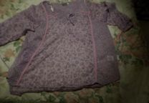 Blusa Venca / lilas / 3xl