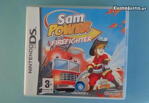 Jogo Nintendo DS - Sam Power Firefighter