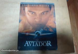 dvd original o aviador ediçao digipack 2 dvds