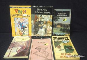 Livros em Inglês The Pearl The Red Pony Steinbeck