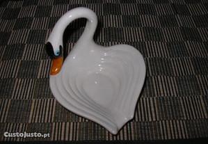 Cisne em Porcelana