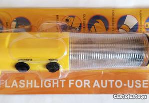 Lanterna multifunções de emergência para automóvel