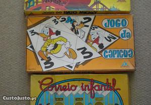 jogos Majora - Capicua - Mickey - Correio