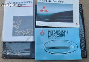 Manual instruções Mitsubishi Lancer