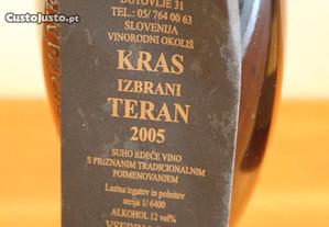 Vinho tinto Esloveno 2005 Boris Lisjak