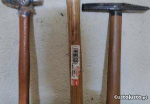 vários tipos de martelos