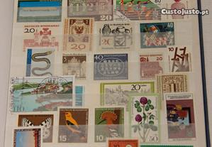 Selos Alemanha - vários anos - 250 selos