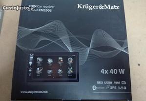 Kruger & Matz auto-rádio (2DIN) - NOVO
