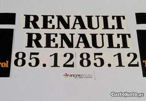 tractor Renault 65-12 LS 75-12 85-12 autocolantes