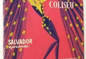 COLISEU; Mulheres de Sonho Catálogo revista teatro