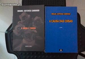 Obras de Miguel Esteves Cardoso