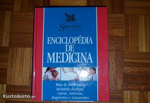 enciclopédia de medicina capa dura