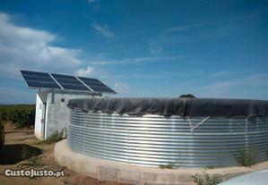 Bomba Solar 3CV com 8 painéis 330W